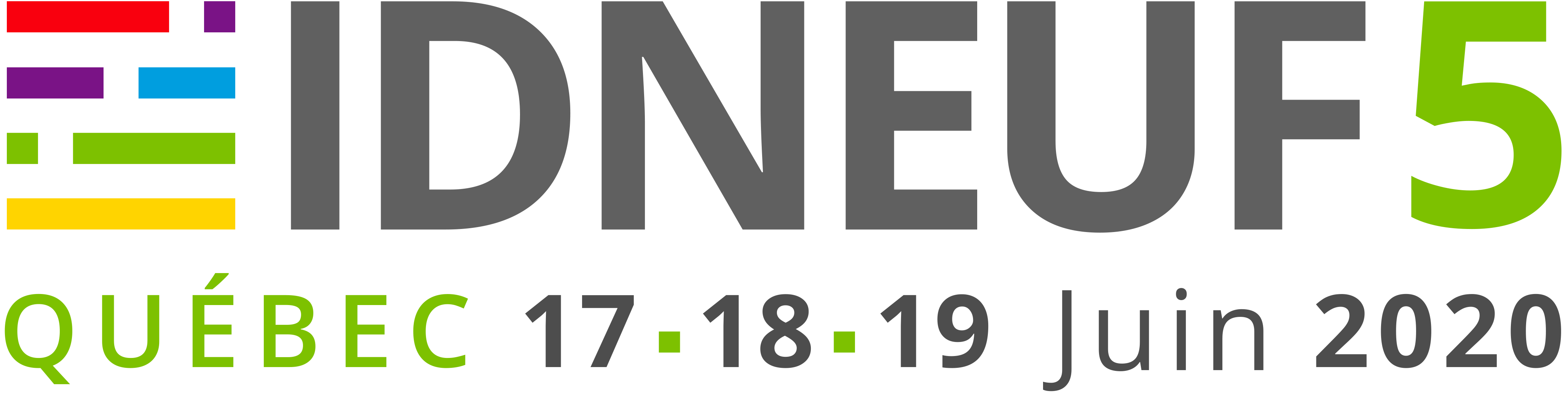 IDNEUF5 – Québec, Canada – du 17 au 19 juin 2020
